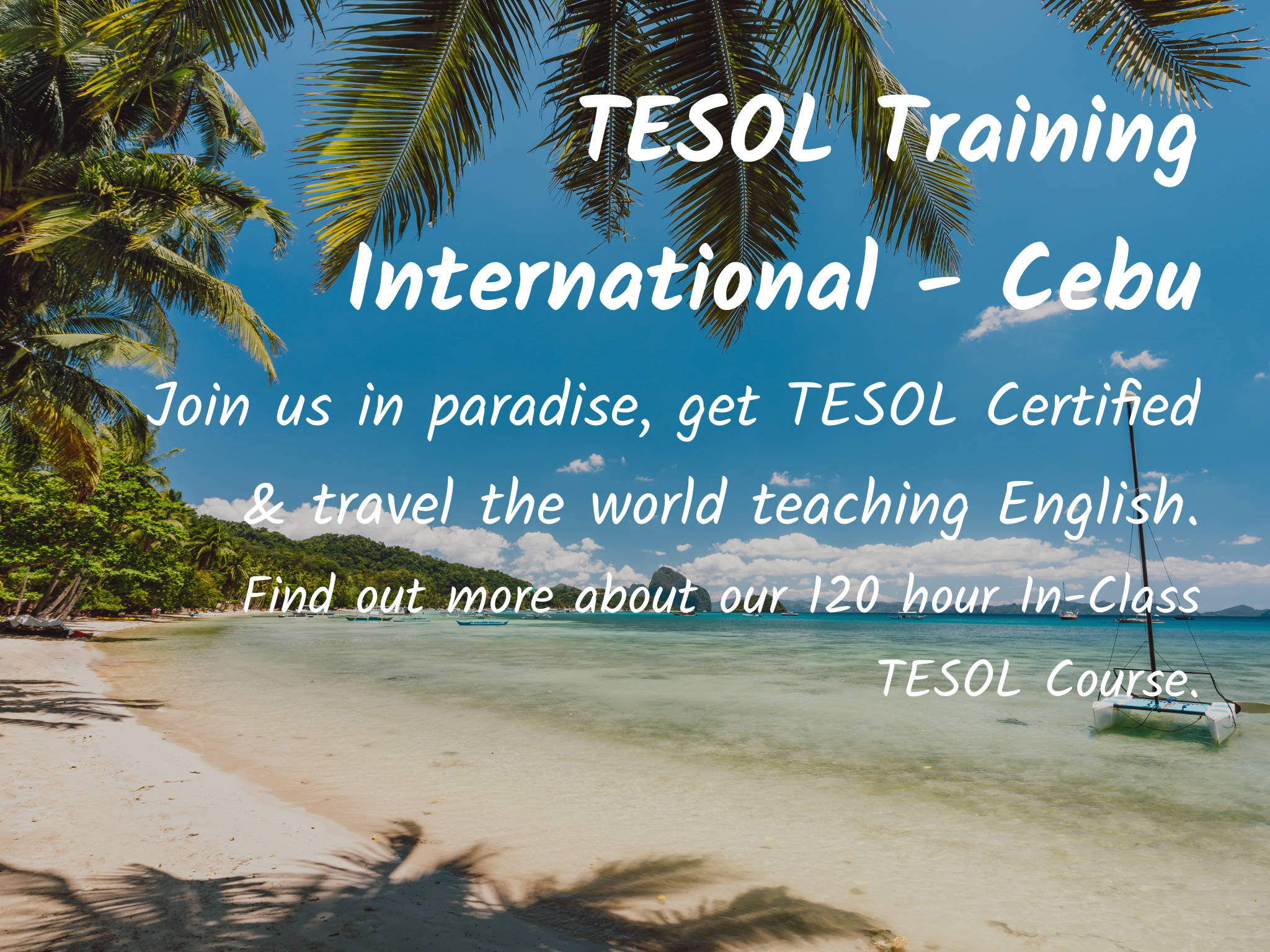 120 Hour TEFL / TESOL Course | TESOL Training International Cebu