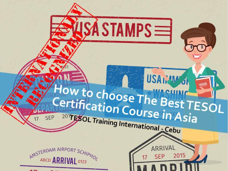 How To Choose The Best Tesol Certification Course In Asia