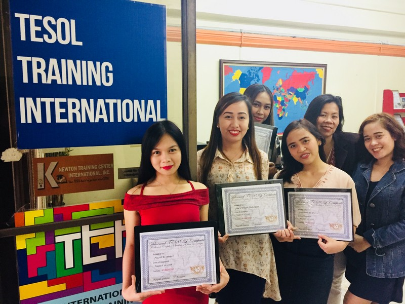 TESOL Training International - Cebu Graduation