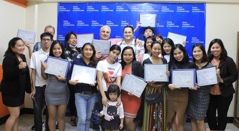 TESOL Training International Cebu January 2019 Graduation