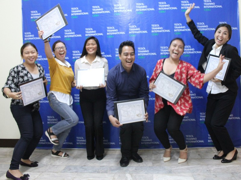 TESOL Training International Cebu - June 2018 Graduation
