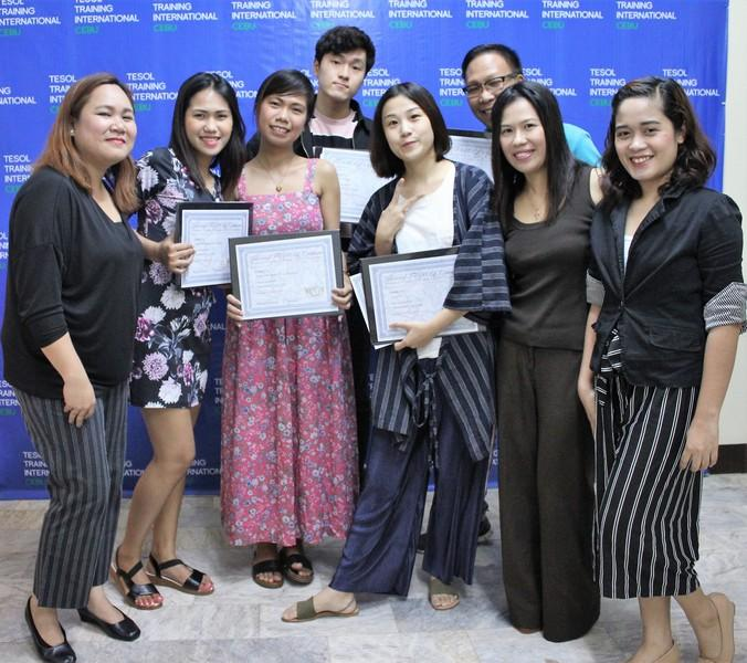 TESOL Training International Cebu November 2018 Graduation tefl tesol certified teachers