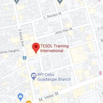 TESOL Training International Cebu Location Map